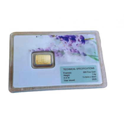 6th Scents Gold Bar 1 gram Lavendar   Jongkong emas