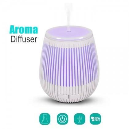 USB Aroma Diffuser Stripe White (100ml)