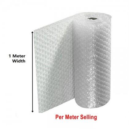 Bubble Wrap Bubblewrap Poly Mailer Cling Wrap Packing Buble Wrap Single Layer (1 Meter)