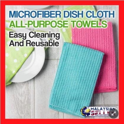 Dish Cloth Microfiber All Purpose Towels | Tuala Pengelap microfiber cloth