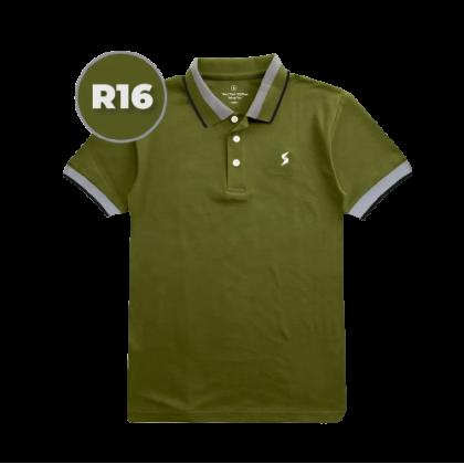 LEON Blue Label Polo T-Shirt R Edition - R16 Olivestone