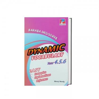 Bahasa Inggeris Dinamik Vocabulary English Easy Explanations Year 4,5 & 6 UPSR NEW 2020