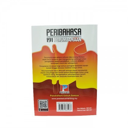 Buku 191 Perumpamaan Tahap 1 & UPSR (Edisi 2021)